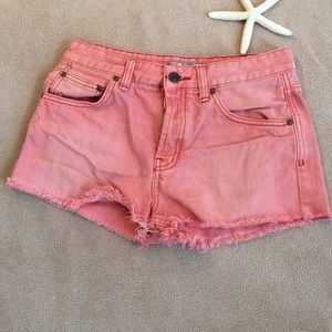 Free People Jean Shorts Size 27 W